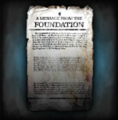 A Message From The Foundation.PNG