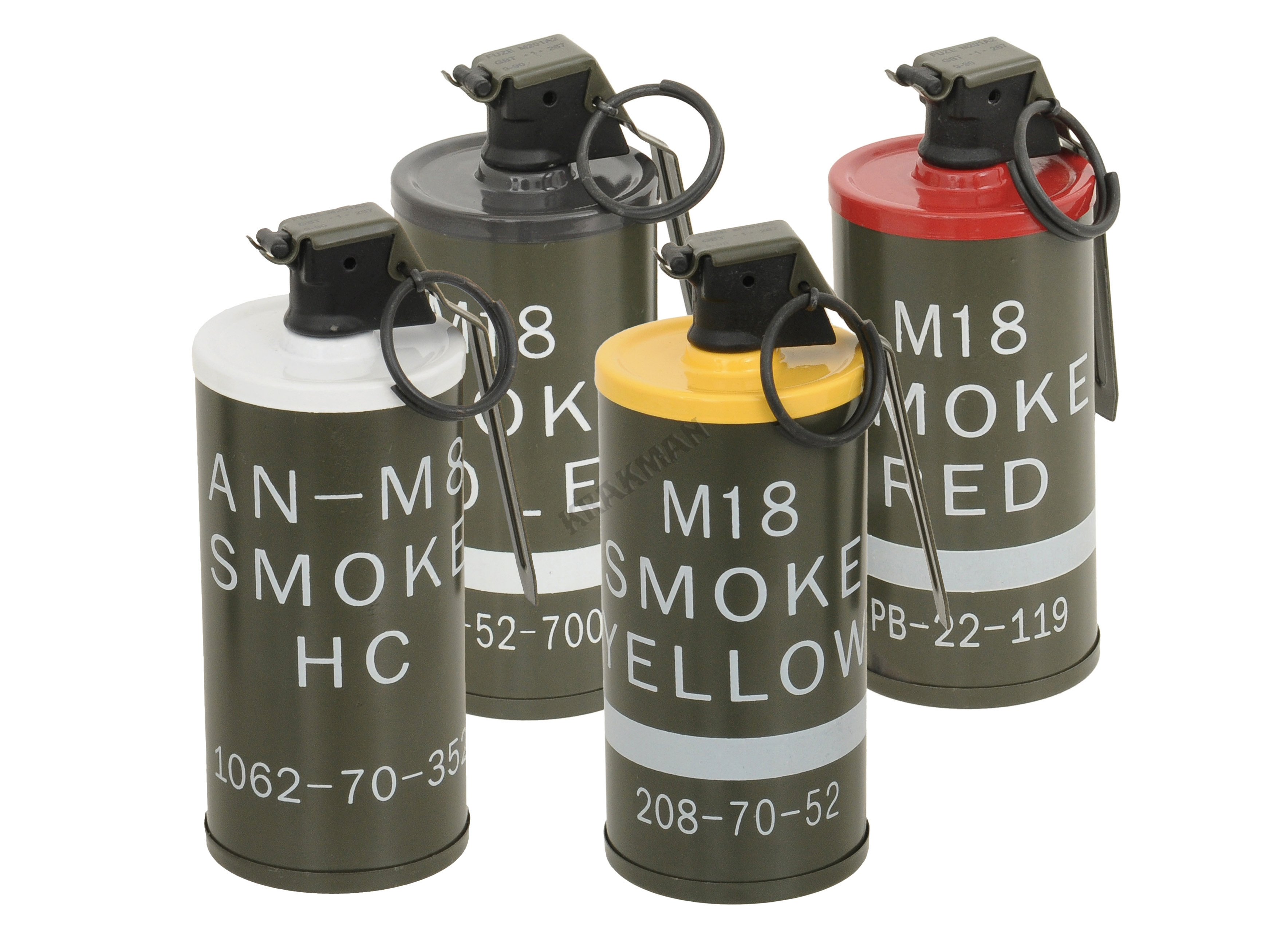 Searched 3d models for Smoke grenade m8