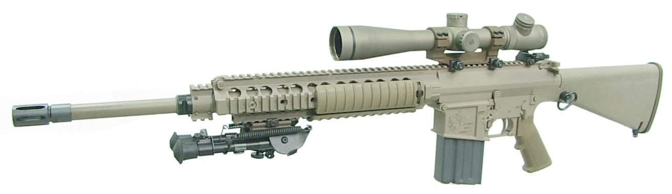 Full resolution   M110 Sniper Rifle