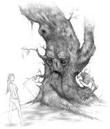 Tree spirit concept
