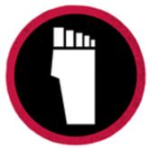 Foot-clan symbol 1234567890