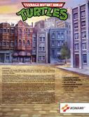TMNT Arcade Flyer 2 Back Art