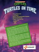 TMNT Turtles in Time Flyer Back Art