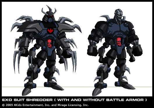 Tmnt 2003 Series Mega Shredder Vs Exodus Shredder Spacebattles Forums