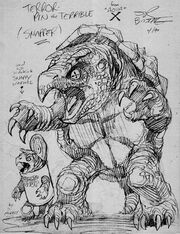 Terrorpin Snappy -concept by Bissette