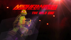 Michelangelo the wild one by brandatello-d5a1e1n