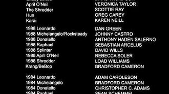 TMNT Turtles Forever Credits ( Ending )
