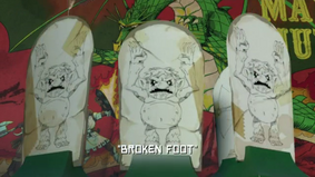 Broken Foot - Title Card
