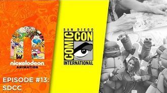 Episode 13 San Diego Comic Con Nick Animation Podcast