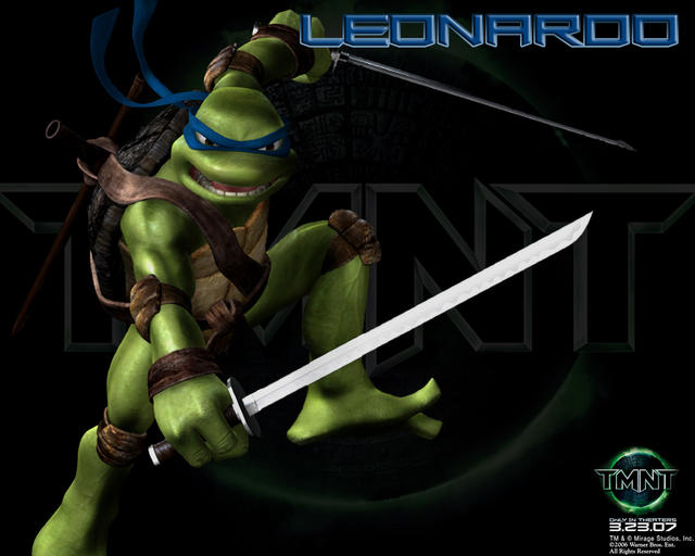 Leonardo (Movies) | TMNTPedia | Fandom powered by Wikia