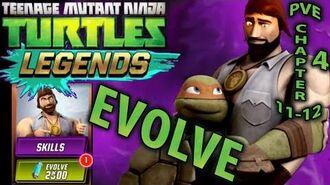 Evolve Chris Bradford CARD TMNT Legends PVE gameplay 10