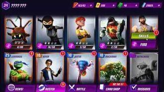 SAMURAI Rank TOP 10% battles TMNT Gameplay