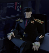 Steranko in chair