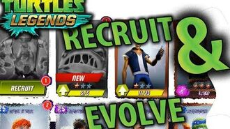 Recruit NEW & Evolve Xever TMNT Legends gameplay