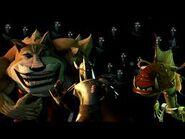 Teenage Mutant Ninja Turtles 2012 Fishface, Dogpound, and The Shredder