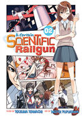 A Certain Scientific Railgun Manga v02 cover
