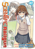 A Certain Scientific Railgun Manga v07 cover