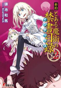 Shinyaku Toaru Majutsu no Index Light Novel v02 cover