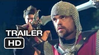 Knights Of Badassdom Official Trailer 1 (2013) - Peter Dinklage LARP Movie HD