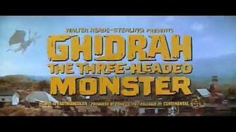 GHIDRAH, THE THREE-HEADED MONSTER TRAILER 1964