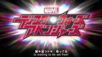 Marvel Disk Wars The Avengers - Opening