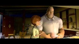 The Incredibles - Official Trailer HD
