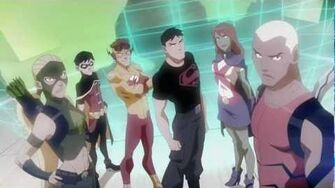 Young Justice Intro