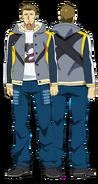 Banjou anime design full view