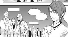 Tsukiyama takes over leadership of the Suits group