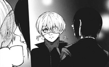 Furuta offers Kaneki to take the blame for the Washuu Clan Ambush Incident