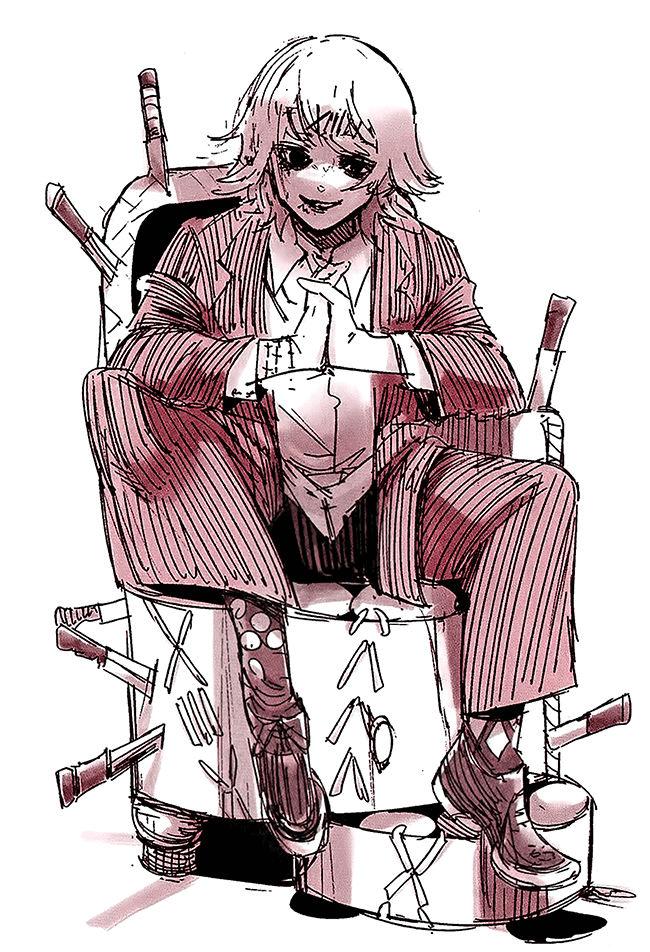 Special Illustration Calendar Tokyo Ghoul : Image juuzou suzuya s birthday illustration in the
