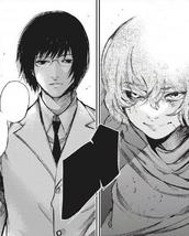 Eto and Arima's confrontation