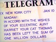 The Million Dollar Cat - Telegram