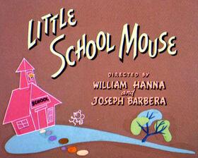 Little School Mouse title
