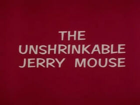 The Unshrinkable Jerry Mouse Title Screen