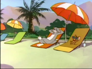 An Ill Wind - Tom and Jerry relaxing