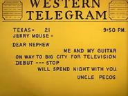 Pecos Pest - Uncle Pecos' letter