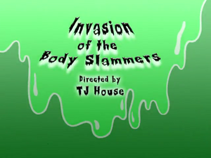 Invasion of the Body Slammers title