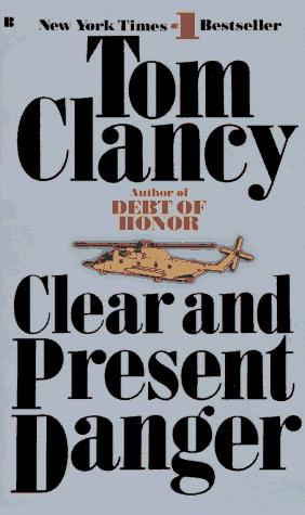 Clear and Present Danger Novel Cover