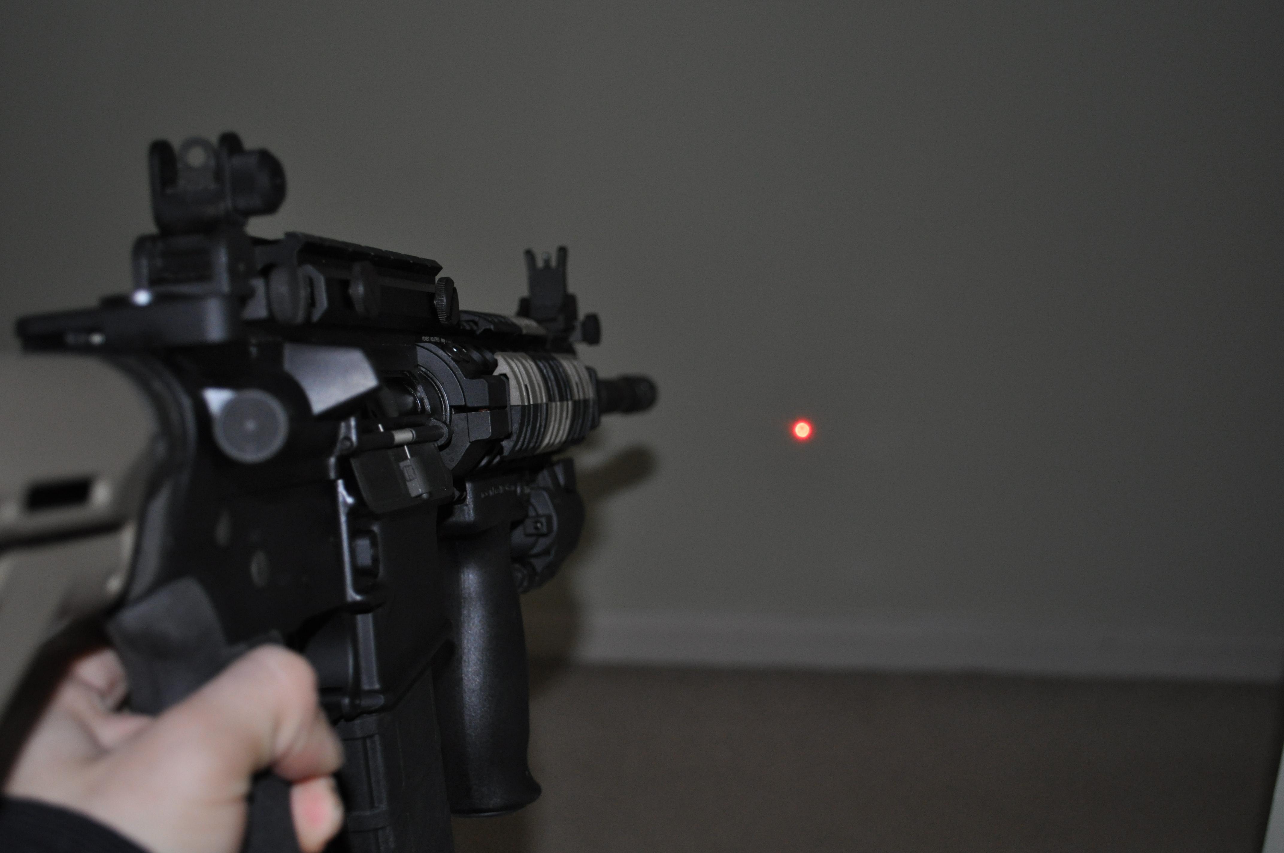 ar 15 Laser Sight Ar-15 With Laser Sight