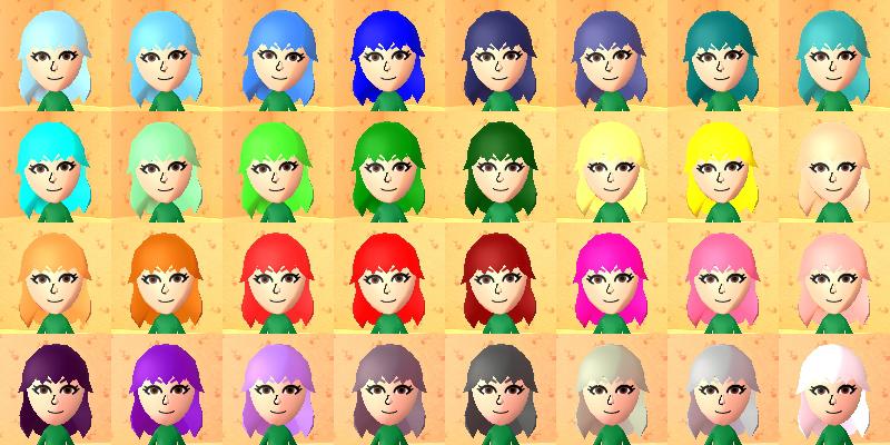 Hair Dye Tomodachi Life Wiki Fandom Powered By Wikia