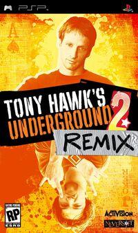 Game Cover THUG2 Remix PSP