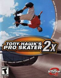 Game Cover THPS2x Xbox