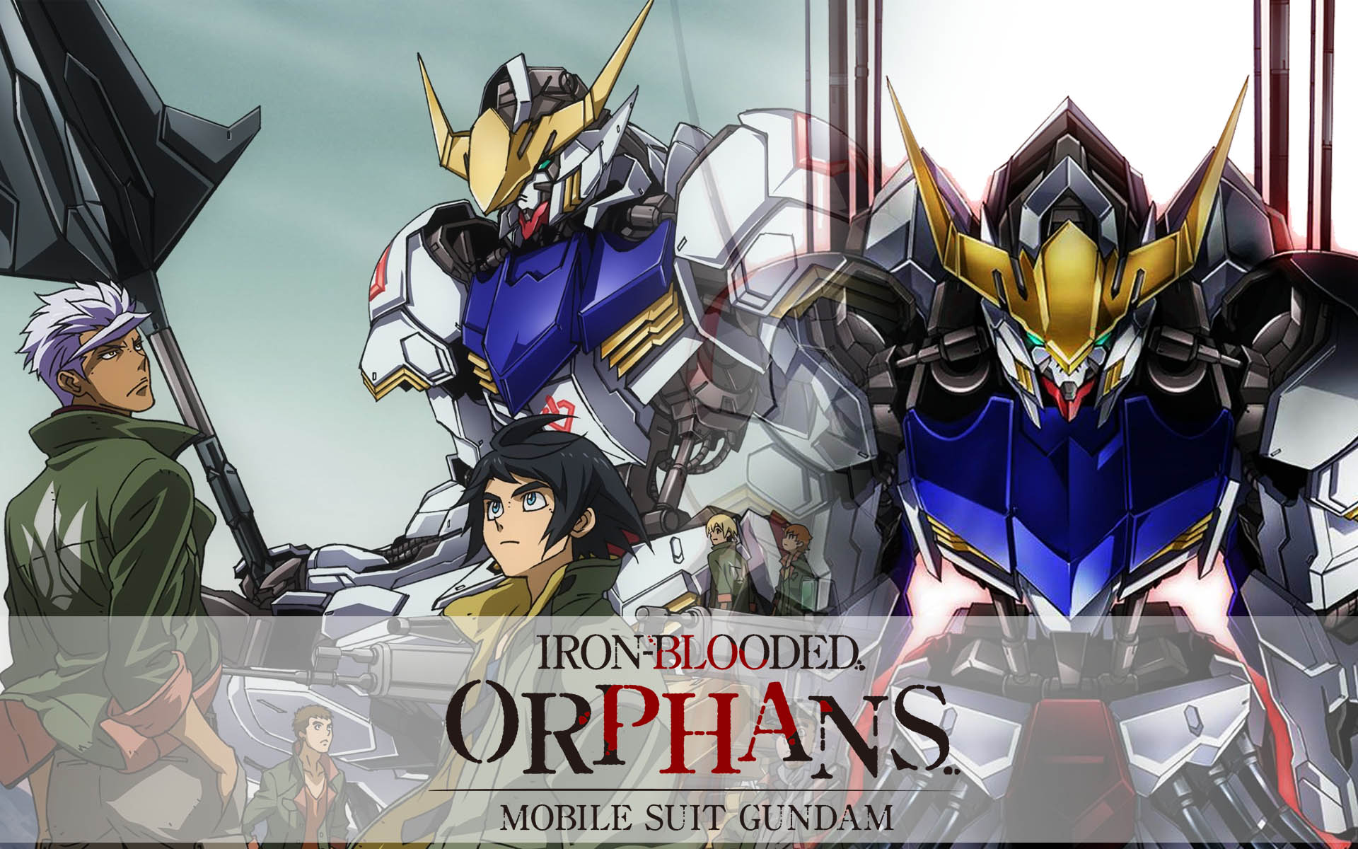 Image result for gundam iron blooded orphans