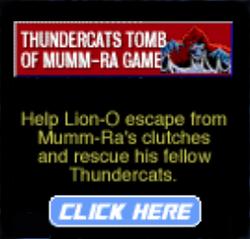 Thundercats Tomb of Mumm Ra