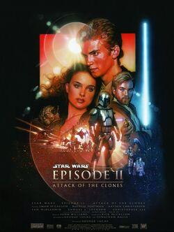 Star Wars Epiosde II Poster