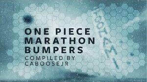 One Piece Marathon - Toonami Bumpers
