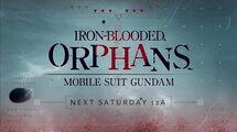Gundam Iron Blooded Orphans - Toonami Promo