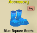 Blue Square Boots