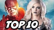 The Flash Season 3 Episode 7 Killer Frost TOP 10 and Easter Eggs